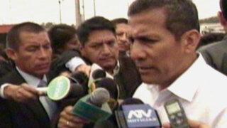 Presidente Humala: Con violencia cafetaleros no solucionarán su problema