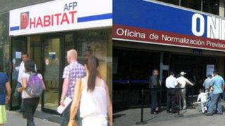 Desde el 1 de agosto independientes empezarán a aportar a la ONP o AFP Habitat
