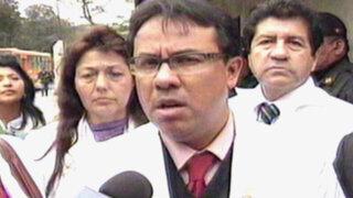 Médicos en huelga exigen que Humala se disculpe por sus declaraciones
