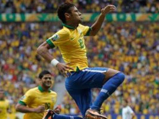 """Medios españoles coronan a Neymar como """"Reymar"""" tras triunfo en la Confecup"""