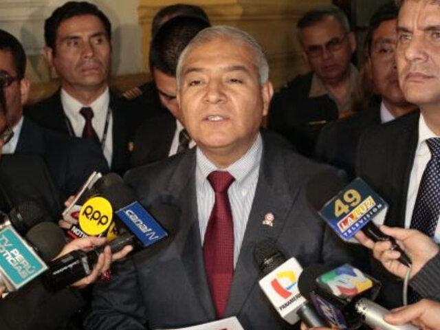 Ministro Pedraza: FFAA no bajarán la guardia contra senderistas del Vraem