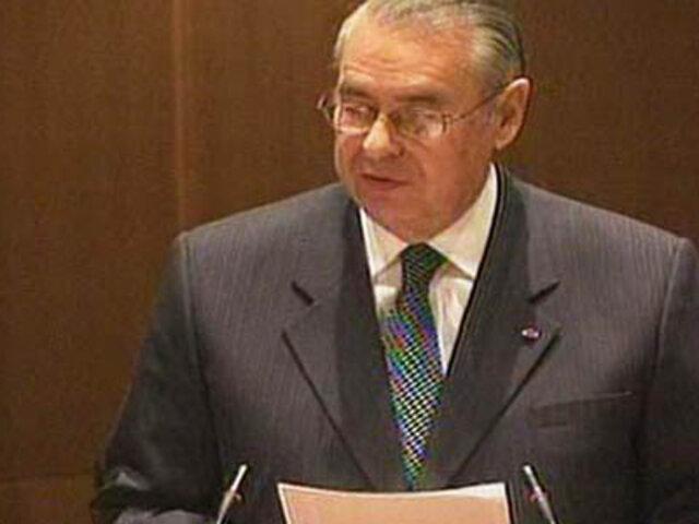 Allan Wagner: No es conviene que el Perú suscriba ahora la Convemar