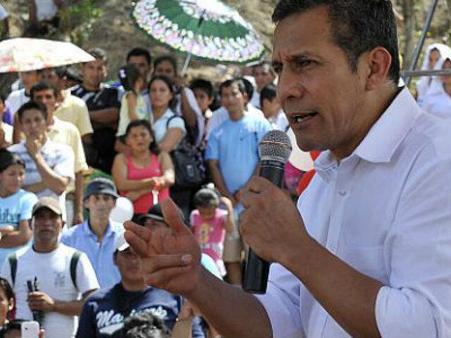 Presidente Humala: Reformas permitirán tener un Estado moderno y eficiente