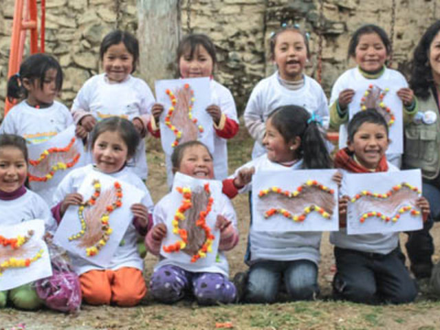 Escolares de Yauyos-Lima participan en talleres sobre el Qhapaq Ñan