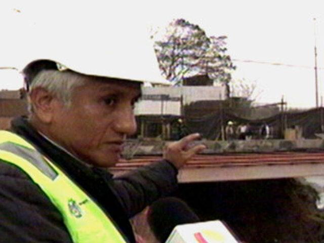 Emape inicia instalación de puente Bailey en San Martín de Porres