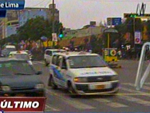 Reabren tránsito en la Avenida Abancay en sentido del Rímac a La Victoria