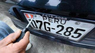 Se inició cambio de placas para vehículos de transporte público, privado y carga