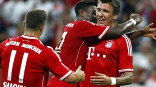 Bayern Munich ganó la Copa Audi tras vencer por 2-1 al Manchester City