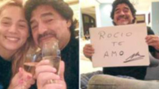 Esposa e hijas de Maradona pagan 25 mil euros a su novia para que esté con él