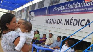Asegurados de Essalud recibirán atención gratuita en Hospitales de la Solidaridad