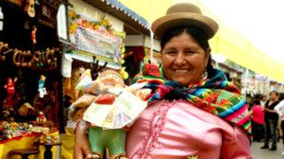 Campo de Marte: Feria de la Peruanidad ofrece rituales para la buena suerte