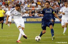 Real Madrid venció en partido amistoso por 3-1 al LA Galaxy