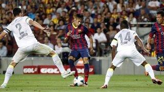 Barcelona apabulló 8-0 al Santos en el Camp Nou