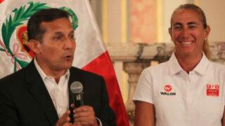"""Ollanta Humala pide levantarse temprano para alentar a """"Matadorcitas"""""""
