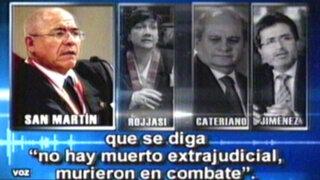Coordinaciones bajo la lupa: la reunión detrás del caso Chavín de Huántar