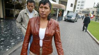 Elsa Malpartida denuncia ser víctima de una persecución política del APRA
