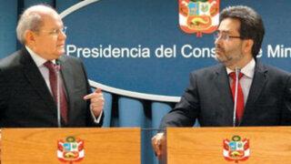Denunciarían a Cateriano y Jiménez por reunión de Caso Chavín de Huántar