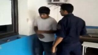 VIDEO: argentinos indignados por policía que tortura a joven de 15 años