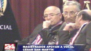 Magistrados defendieron a César San Martín ante 'chuponeo' de caso Chavín de Huantar
