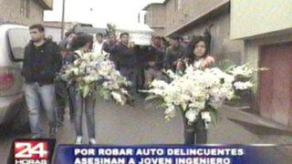 Banda de 'roba carros' asesina a joven ingeniero en Cercado de Lima
