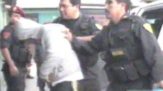 Trujillo: capturan a delincuentes armados que intentaron asaltar una combi