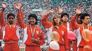 Llegada de las olímpicas: arribo de la Selección Peruana de Vóley de 1988