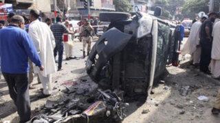 Pakistán: atentado en partido de fútbol deja 11 niños muertos