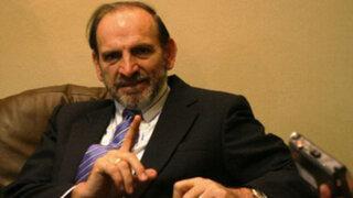 Yehude Simon solicita suspensión de su militancia tras revelaciones de Odebrecht