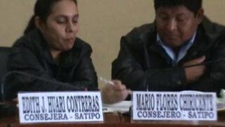 Sorprenden a consejeros regionales de Junín jugando 'michi' en plena sesión