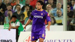 Juan Vargas fue convocado para los amistosos de la Fiorentina