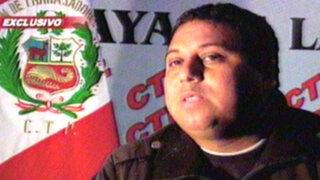 Secretario de construcción civil vinculado al Apra es detenido por extorsión