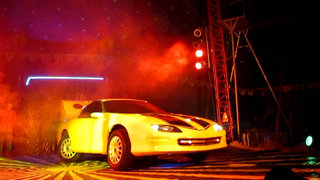 Carro que se convierte en robot sigue siendo la atracción del 'Circo Transformers'