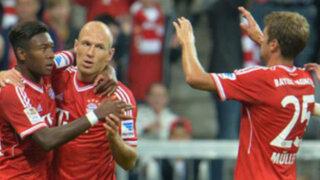 Bayern Munich sin Claudio Pizarro derrotó 3-1 al Borussia Monchengladbach