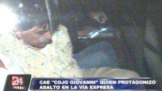 Cae 'Cojo Giovanni', temido líder y fundador de 'Los destructores'