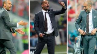 VIDEO: Guardiola y sus 71 minutos sin parar en el banquillo del Bayern Munich