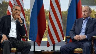 "Barack Obama sostuvo que Vladimir Putin es como ""un niño aburrido"""