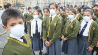 Vacaciones escolares se aplazan en región Lima por gripe AH1N1