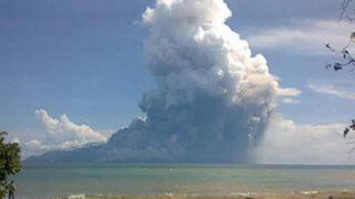 Indonesia: erupción de volcán Rokatenda deja al menos 5 muertos