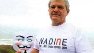 Movimiento político NADINE fue inscrito en la ONPE