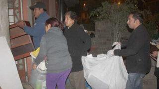 Lurín: matones intentaron desalojar a familia de su terreno con bombas molotov