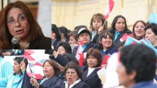 Midori de Habich: Enfermeras recibirán aumento de sueldo a partir de setiembre