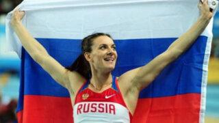 Mundial de Atletismo: Yelena Isinbayeva logra su tercer título mundial en Moscú