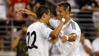 Ángel Di María: Cristiano Ronaldo habló bien de mí para que me quede