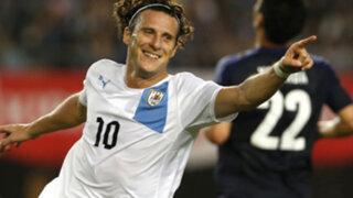 Uruguay venció 4-2 a Japón en partido amistoso previo al choque contra Perú