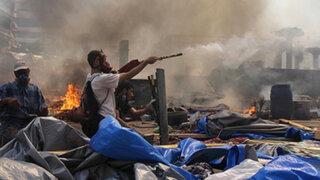 Egipto: decretan estado de emergencia tras cientos de muertes en protestas