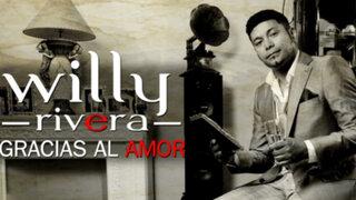 Willy Rivera presentó en exclusiva su nuevo álbum 'Gracias al Amor'