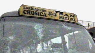 Indignante: otro 'Chosicano' atropella y mata a una anciana en Ate