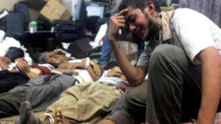 Casi 300 personas muertas tras día de violencia en Egipto