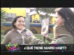 ¿Qué tiene Mario Hart?: féminas se derriten por corredor