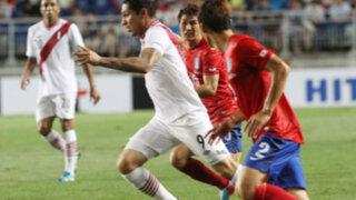 Perú igualó sin goles ante Corea del Sur en partido amistoso
